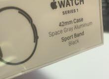 apple watch  1 42 mm gray aluminum sport band