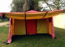 خيمة  مناسبة للرحلات والنزهات والمناسبات