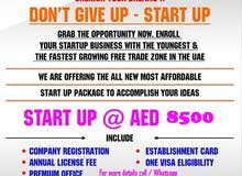 Marketing Agency License with 1 visa