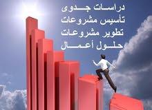 دراسات جدوى اقتصاديه نعدها للاردن والسعوديه والبلدان الخليجيه والعربيه
