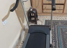 جهاز رياضةمشي للبيع يحمل وزن لغاية90 كيلو البيع بداعي السفر الجهازشغال عالفحص