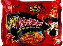 Korean Ramen Noodles - رامن كوري (نودلز كورية)