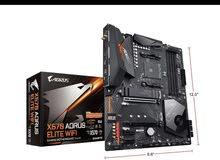X570 aorus elite wifi motherboard