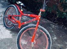 دراجة الهلال مشالله شبة جديدة كاملة مكملة