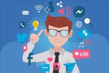 Social Media Management Expert  خبير إدارة الحسابات المواقع تواصل اجتماعي