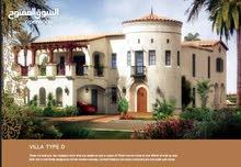 فيلا 7غرف وغرفه خادمه 7367قدم بنيت بطراز اسباني بمناظر عشبيه ساحره بمساحه رائعه