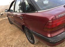Mitsubishi Lancer 1992 For sale - Maroon color