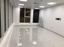 للايجار مكتب شارع سالم المبارك - مساحة 50 م مع الديكور