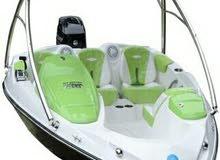 قارب مع محرك للبيع ( جديد)