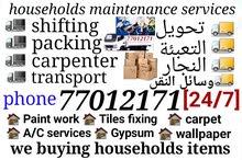 house villa office packing  shifting  transportcarpenter