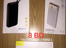 Baseus high quality powerbanks / شواحن محمولة شركة Baseus