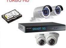 طقم كاميرات مراقبة هيك فيجن عالية الجودة.