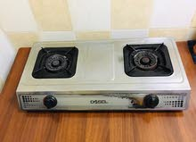 Gas Stove, pipe & Regulator with good working condition.