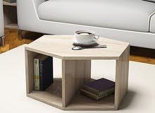 تصنيع طاولات ضيافه .او ارفف . بالخشب الطبيعي