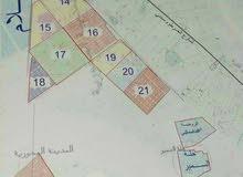 قطع اراضي في المحورية مربع 22