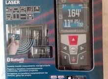 جهاز قياس المسافات الالكتروني Bosch 50m جديد بالكرتون
