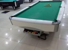 طاولة بلياردو 9 قدم للبيع