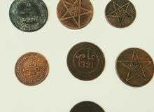 عملة مغربية عهد السلطان عبد العزيز ويوسف