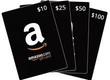 $160 Amazon, Itunes, Apple كرت شراء للبيع بقيمة$160