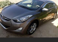 Brown Hyundai Elantra 2012 for sale