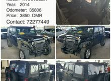 Jeep Wrangler car for sale 2014 in Muscat city