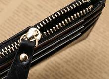 محفظة البطاقات مع سحاب  Card Wallet With Zipper