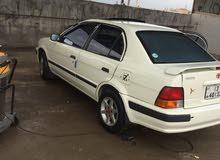 سيارة تيوتا تيرسل 1995 ماتور 1500 انجيكشن دهان جديد كوشوك وكالة