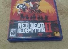 red dead2 مستعمله نظيفه