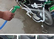 pistolet à eau laver voiture haute pression tête en cuivre