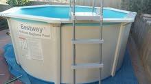 برك سباحة احجام متعددة واشكال مختلفة