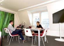 مكاتب مؤثثة للايجار   لإنجاز أعمالك.. لايوجد رخصة   هو مركز  خدمات لاصحاب العمل