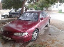 Mazda 626 1998 For sale - Maroon color