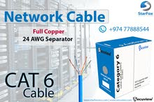 Secuview Cat6 Cable, Doha