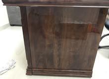مكتب ثلاث قطع فخم جدا خشب زان