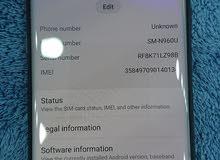 128 gb 6 ram single sim sumsang note 9 very clean