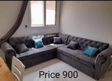 لمجموعة الأرائك اللون لدي أسود بني والعديد من at is very strong l shape sofa