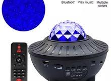 إضاءة النجوم المائية بلوتوث USB