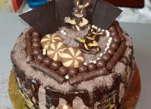 تورته الشوكولاته لعيد ميلاد بيبي
