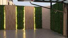 تنفيذ وتصميم حدائق