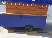 للبيع عربة طعام جديدة ( لم تستعمل ) بكامل معداتها