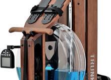 جهاز التجديف المائي Heavy Water Resistance Rowing Machine Wooden