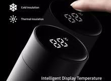 القارورة الذكية لتحديد الحرارة smart thermos coffee