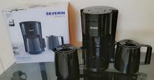 صانعة القهوه من سيفيرين مع ورق فلتر