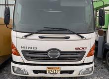 tanker diesel Hino500 model 2012