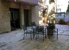 Furnished recently renovated 2BD Apartment for rent in Abdoun with Garden