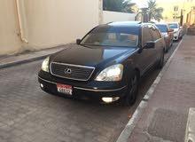 LEXUS LS430 2001, BLACK COLOR