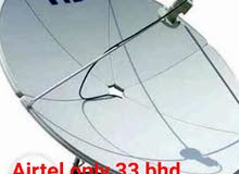airtel new diah with fix and free home delivery call 36811605