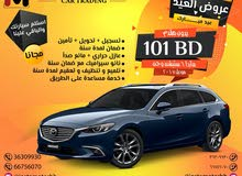 Mazda 6 Model 2017 Single Owner, Accident Free, Original Paint with excellent condition.