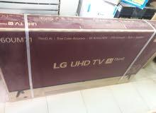 ال جي شاشة  60 بوصة UHD 4K
