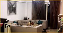 شقة للبيع 180م سابا باشا (خطوات من الترام ) 3 غرف + ريسبشن قطعتين  + مطبخ + 3 حم